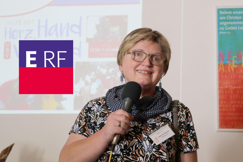 Anne Dreckmeier zu Gast beim ERF